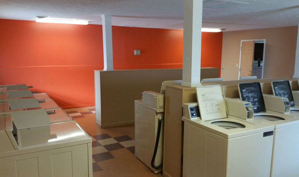 Easily accessible laundry room at Meadowlark in Trotwood, OH