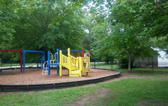 Our on-site playground is a hit with our resident parents and their children at Market Place.