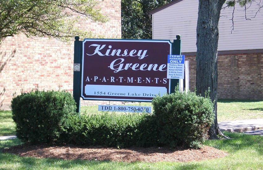 Kinsey Greene Apartments in Xenia is situated in a nice neighborhood.