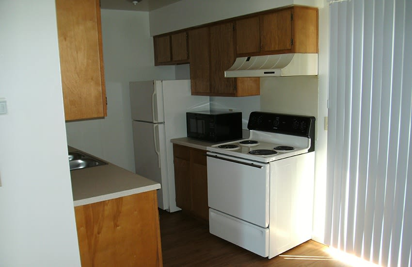 You'll love the modern kitchens at Kinsey Greene Apartments in Xenia.