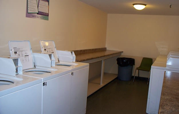 We have on-site laundry facilities here at Nottingham Tower Apartments - which will save you time and money!