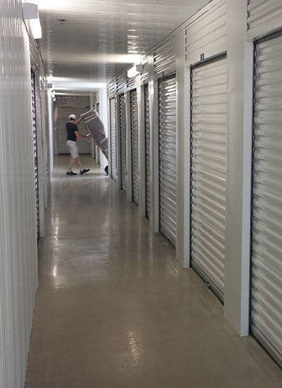 Luxury features for the self storage facility in Schertz