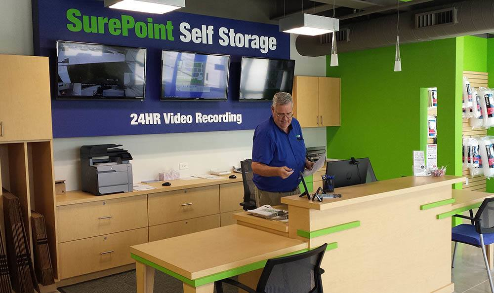 SurePoint Self Storage - Shavano leasing and security office