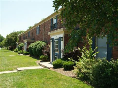 Exterior of Apartments for rent at Lakeside Pointe at Nora in IN.