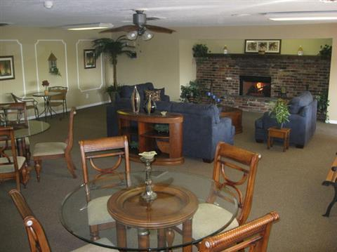 Clubhouse Interior at Lakeside Pointe at Nora in IN.