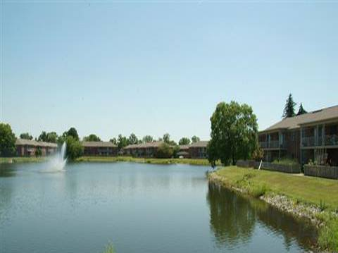 Enjoy the scenery at Lakeside Pointe at Nora in IN.