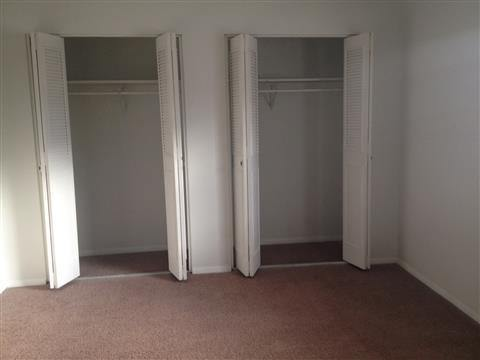 Double the closet space at Covington Square Apartments and Townhomes in IN.