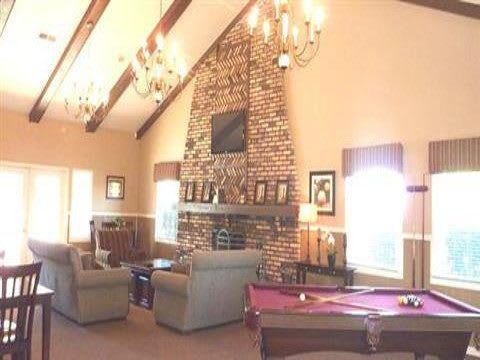 Clubhouse Interior at Fox Club Apartments in IN.