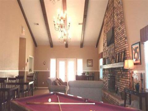Pool Table of Apartments for rent at Fox Club Apartments in IN.