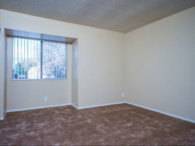 Bedroom at Ascot Park in San Bernardino