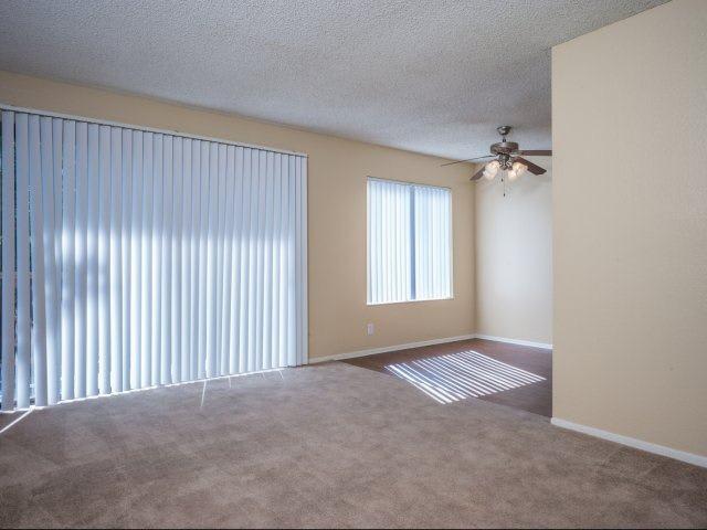 Open Living Room at Ascot Park in San Bernardino