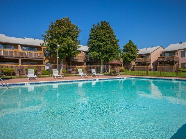 Safe Pool Area at Ascot Park in San Bernardino