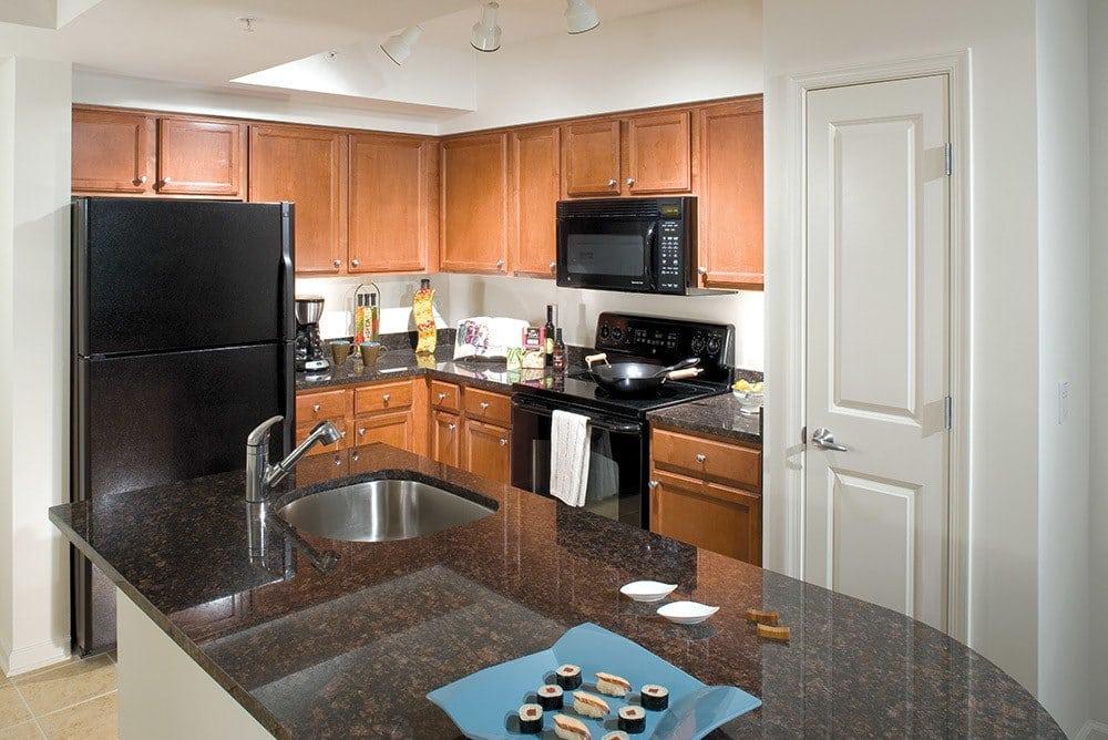 Kitchen at Inigo's Crossing in North Bethesda MD