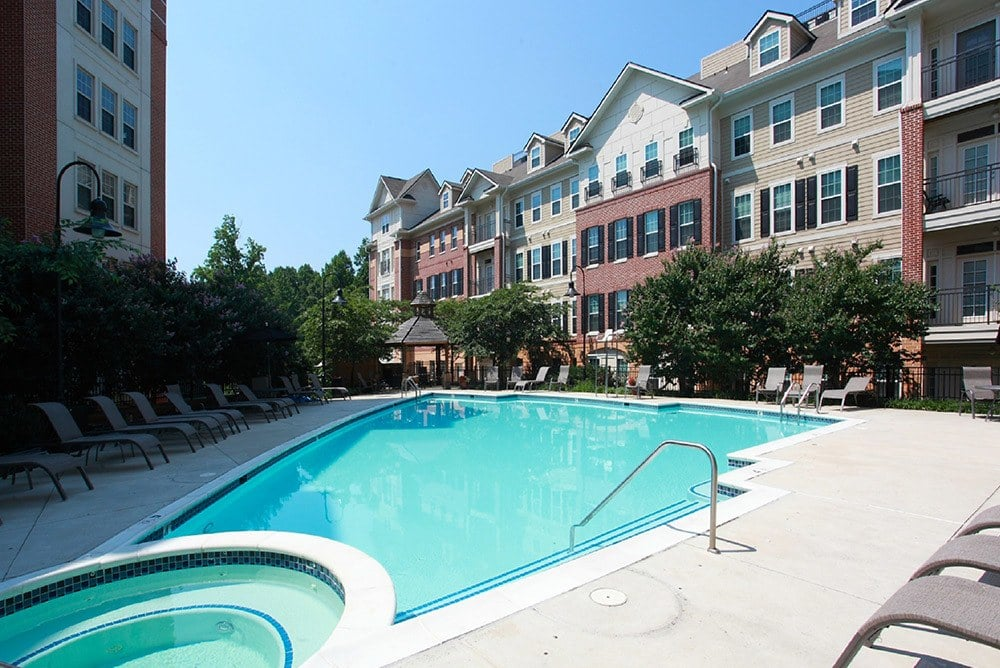 Pool at Inigo's Crossing in North Bethesda MD