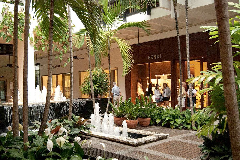 The shops at Bal Harbour in North Miami