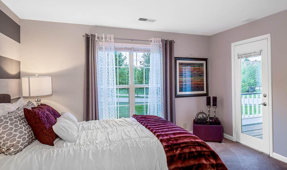 Master Bedroom at Sussex at Kingstowne
