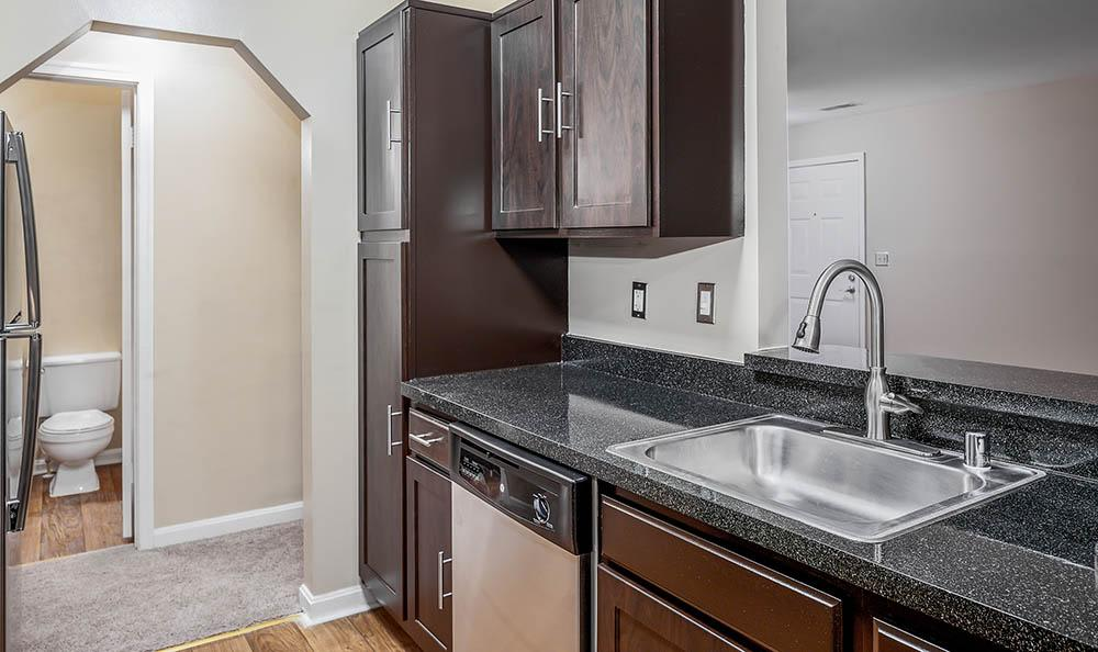 Upgraded Kitchen at Sussex at Kingstowne