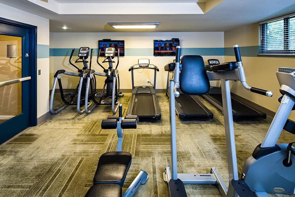 The Warwick Apartments fitness center