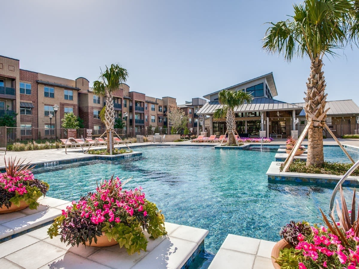 Apartments in Frisco features a pool