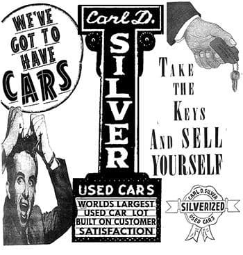 Carl D. Silver's dealership in Fredericksburg, VA