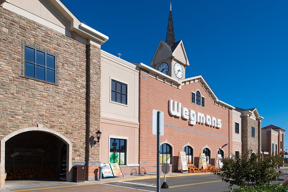 Wegmans exterior of building in Virginia