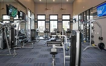 Fitness center at Cosner's Corner