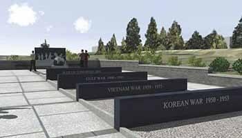 Stafford War Memorial in Stafford, Virginia