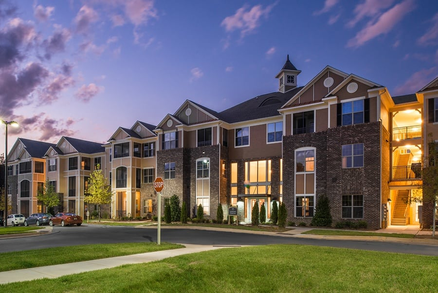 Waterford At The Park is one of Silver Companies finest apartments