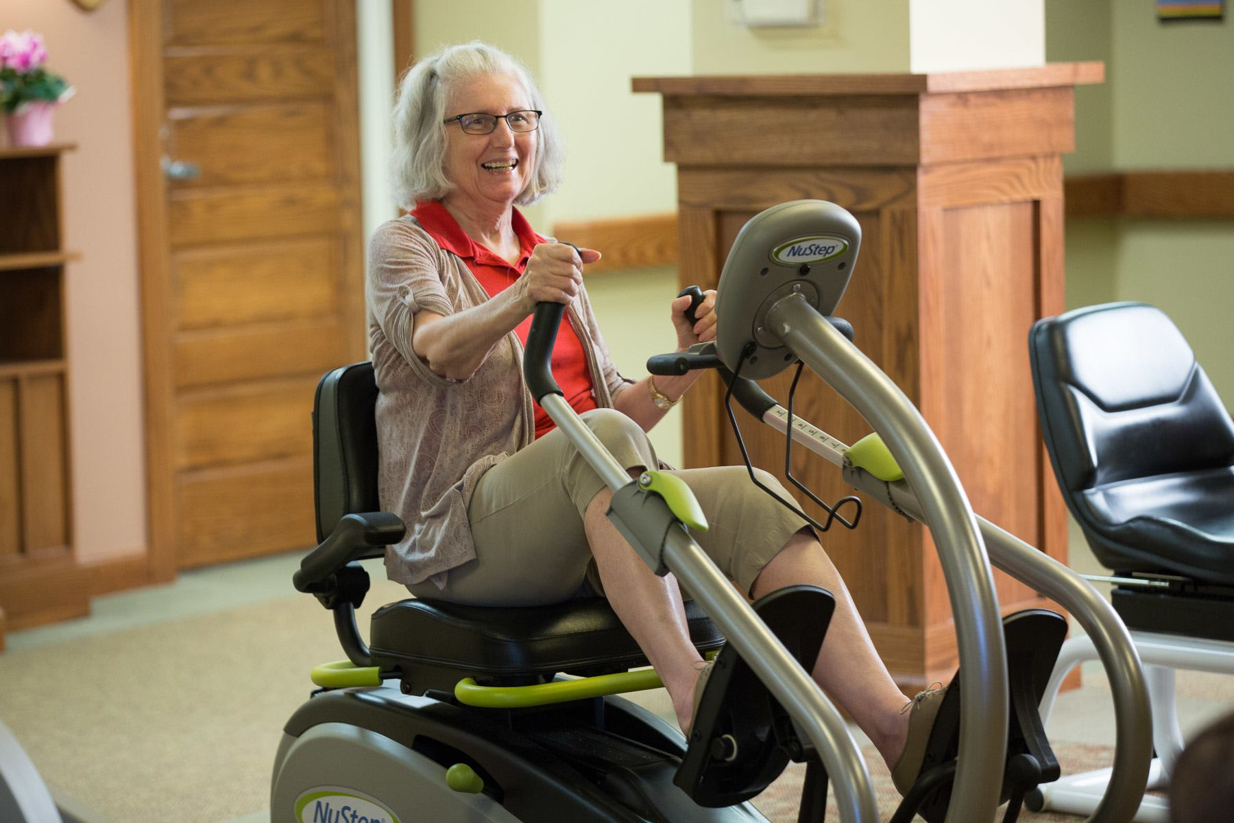 Physical therapy at Heritage Ridge in Bellevue, NE