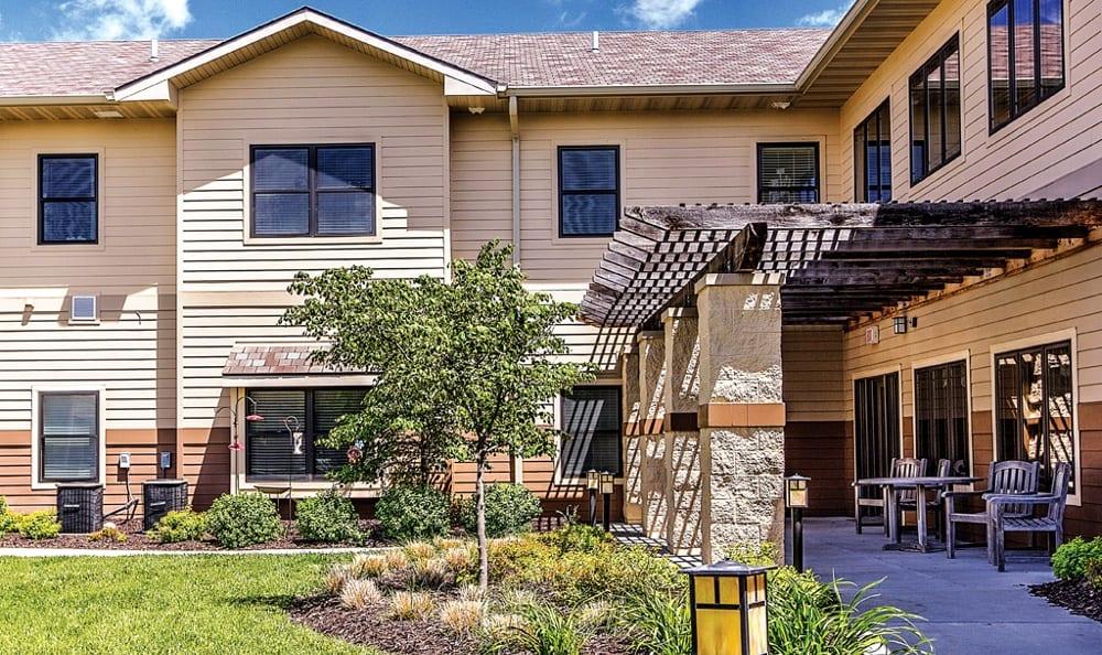 Heritage Ridge has the best exterior features in Bellevue