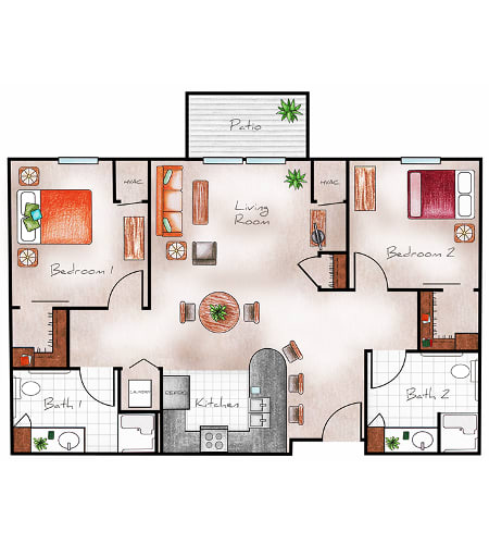 Independent Living at The Heritage at Legacy