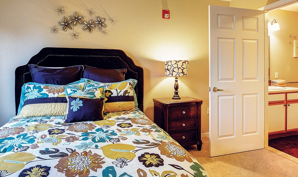 Bedroom At Our Sioux City Senior Living Community