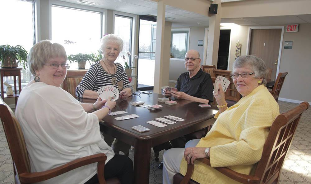 Card Games at The Heritage at Northern Hills in Sioux City