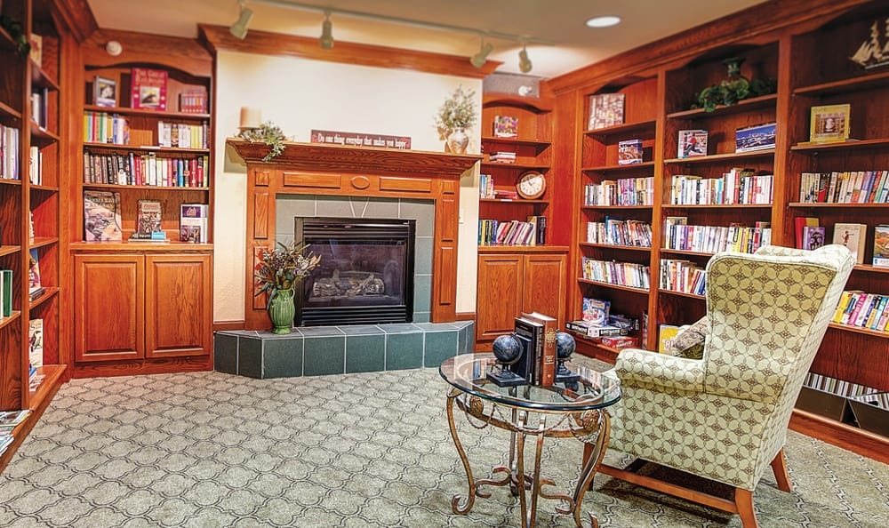 Library At Our Sioux City Senior Living Community