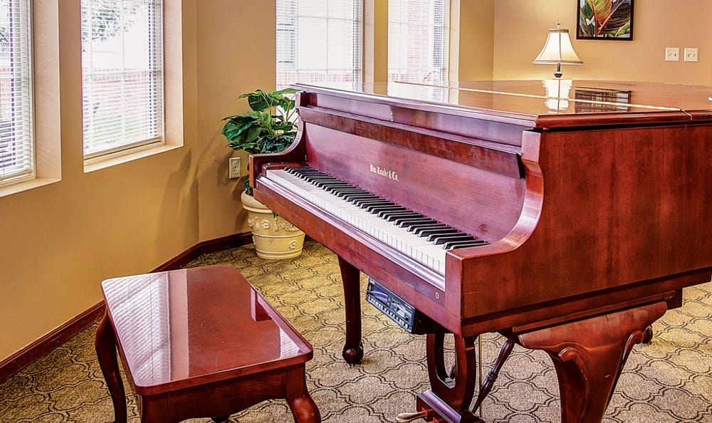 Piano At Our Sioux City Senior Living Community