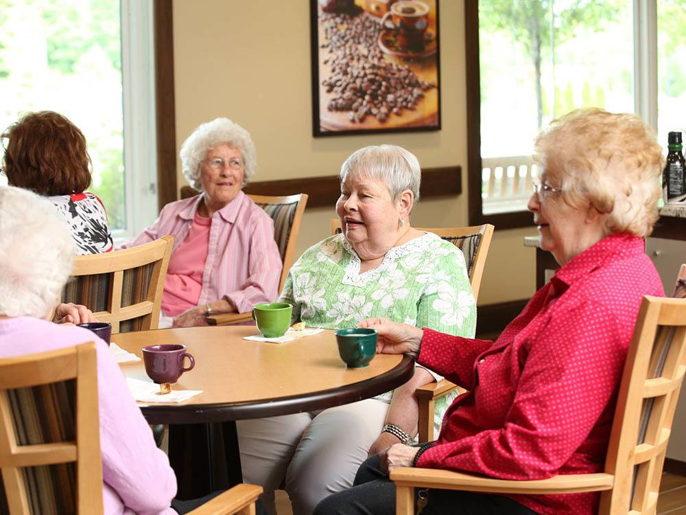 Coffee With Friends at The Heritage at Sterling Ridge in Omaha