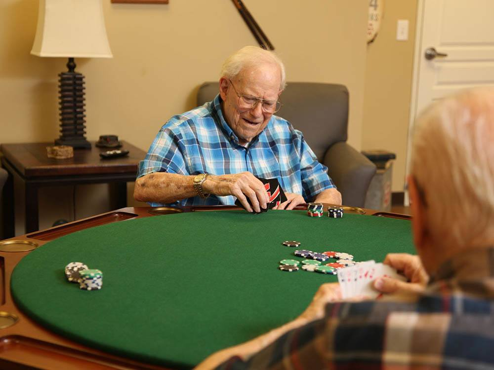Poker at The Heritage at Sterling Ridge in Omaha