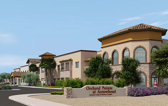 Visit our Orchard Pointe at Arrowhead website.