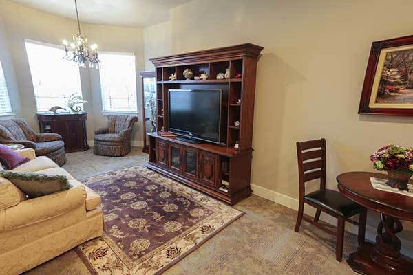 There are a variety of floor plans to choose from at Osmond Senior Living in Lindon