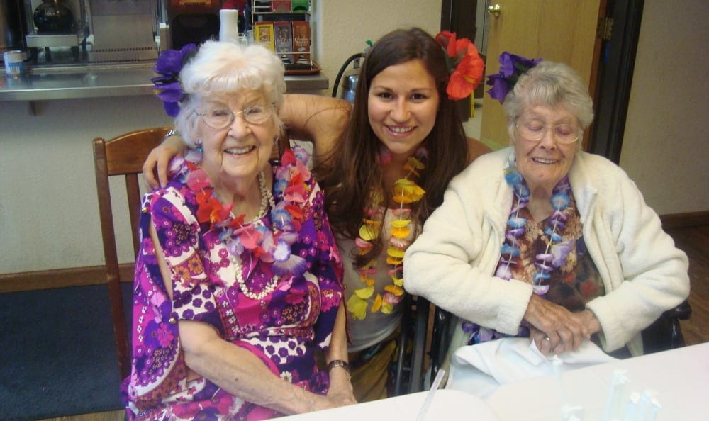 Alder Bay Assisted Living has great programs for it's residents.
