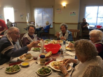 Create new memories with new friends at Alder Bay Assisted Living