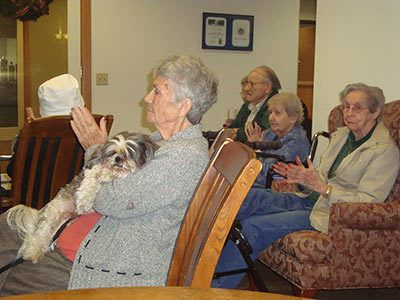 Alder Bay Assisted Living is pet-friendly.