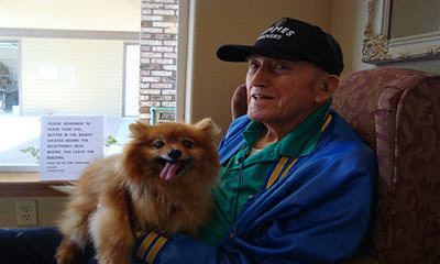 Alder Bay Assisted Living accepts pets.