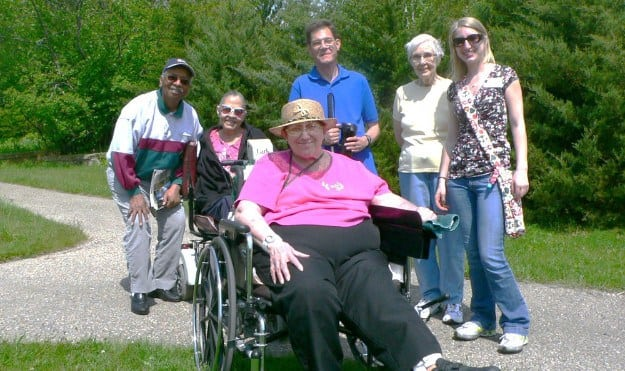 Go on adventures outdoors at Avalon Assisted Living Community.
