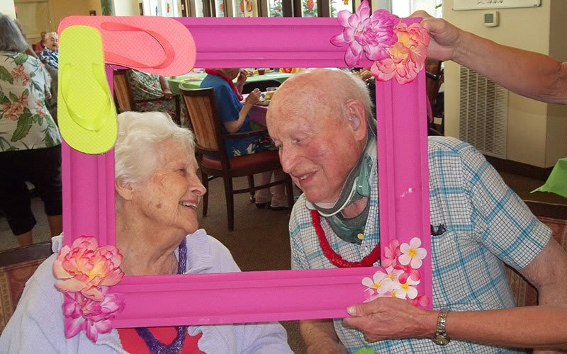Sweethearts at Bayberry Commons Assisted Living and Memory Care