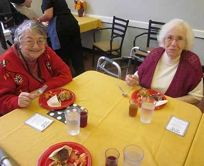 Friends at Chateau Gardens Memory Care.