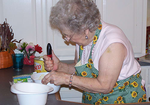 Learn new recipes at Bayberry Commons Assisted Living and Memory Care.