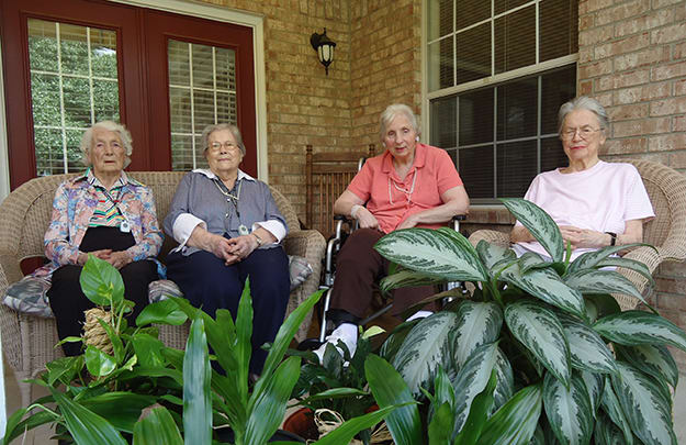 Assisted living is a care option at Flower Mound Assisted Living.