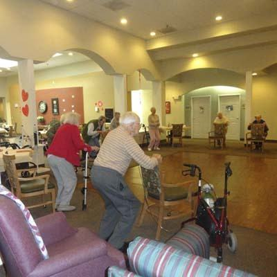 Fun activities at Garden Square Assisted Living of Casper.