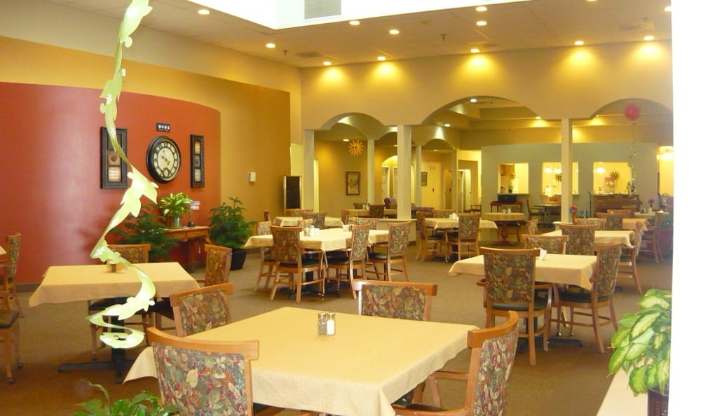 Garden Square Assisted Living of Casper has life enriching activities for residents.